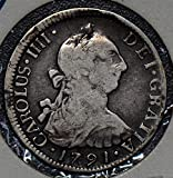 1791 CL C0255 Chile 2 Reales SO%2C rare