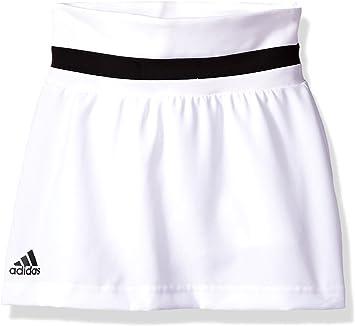 adidas Falda de Tenis para niña, niña, Color Blanco, tamaño Extra ...