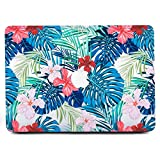 B BELK - MacBook 12'' with Retina Display Case,Ultra-Slim Light Weight Art Printing Palm leaves Pattern Coated Clear PC Hard Protective Case Cover For MacBook 12 Inch(Model:A1534£
