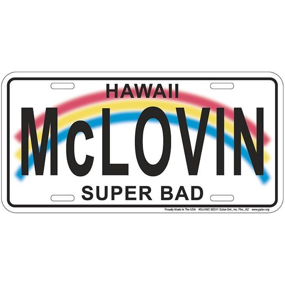 Signs 4 Fun Slhimc Mclovin Hawaii License Plate