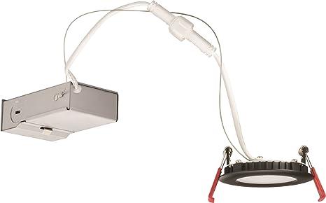 Amazon.com: Lithonia Lighting WF3 LED 40K MB M6 7.9W Ultra Thin 3