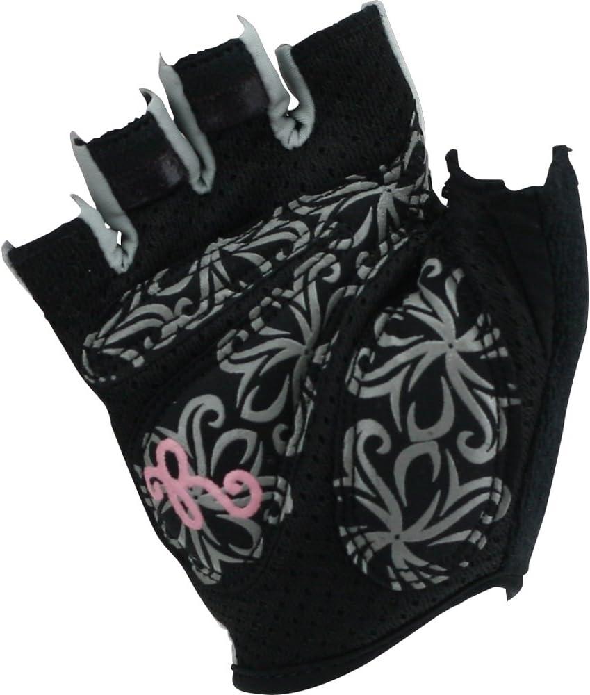 Roeckl Damen Fahrradhandschuhe Sommer schwarz-beige 1005