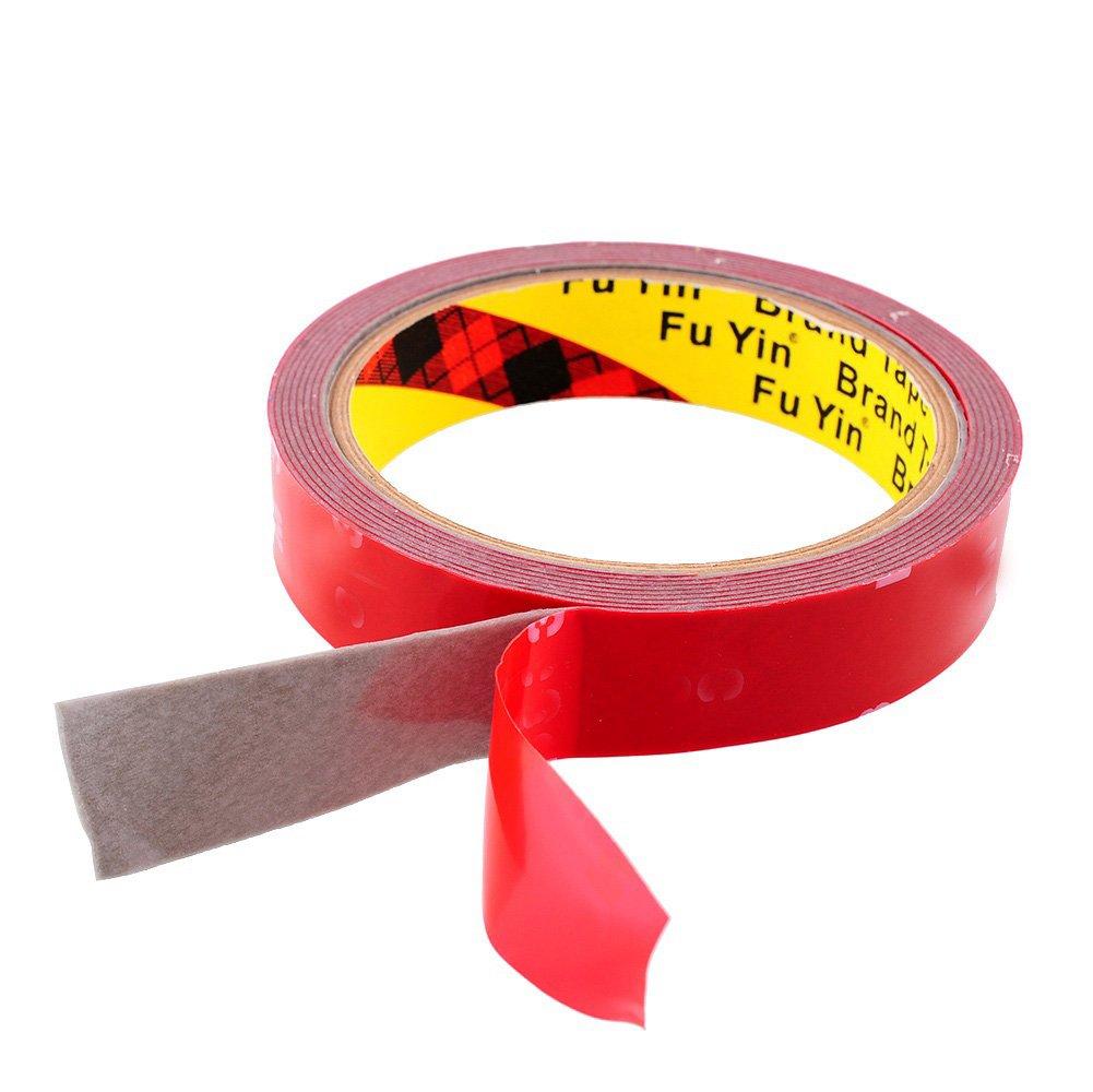 Cinta adhesiva de FomCcu, cinta superfuerte, pegamento de doble cara, para vehí culos, versá til, de 20 mm y 3 m de longitud para vehículos versátil