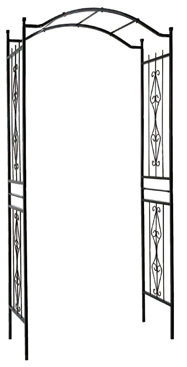 Gardman R355 Charleston Arch, Black, 3' 7'' Wide x 7' 7'' High