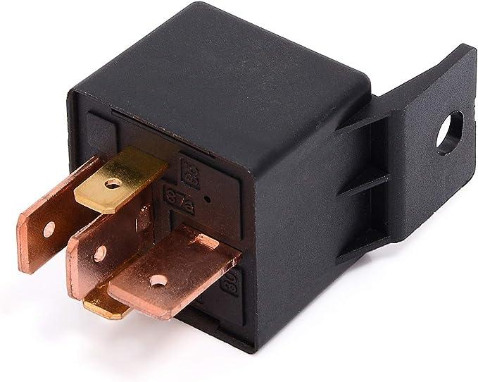 Pack of 2 Jameco Valuepro HSINDA 953-1C12DM-R General Purpose Power Relay SPDT 12 VDC at 77 mA