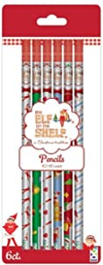 Elf on The Shelf Pencils, #2 HB Lead, 6 Count
