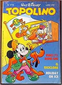 Topolino. N. 1718. Ott. 1988: Walt Disney: Amazon.com: Books