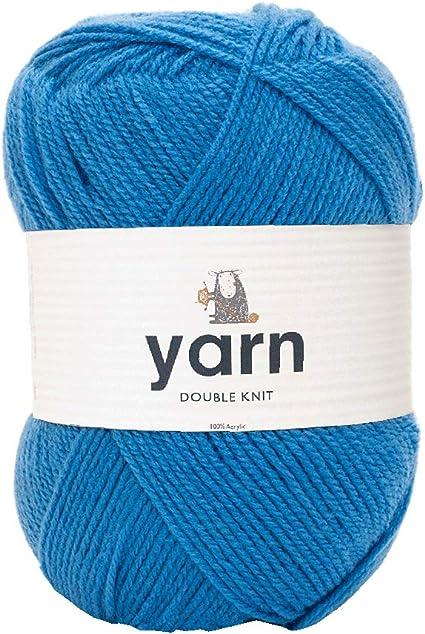 One size 100/% Acryl Korbond DK Garn Aqua