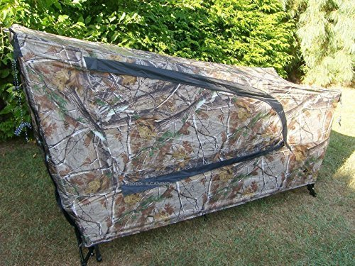 Camo Tent Cot hunting camping Cover Fishing single Bed outdoor gear sleeping bag by Ozark Trail