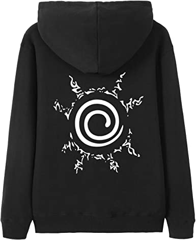 Naruto Shippuden Anbu Black Ops Anime Adult Zip Up Hoodie