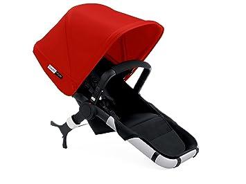 Bugaboo - Silla Runner negro con Capota roja: Amazon.es: Bebé