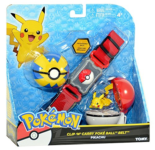 Pokemon Clip And Carry Poke Ball With Pikachu - 6