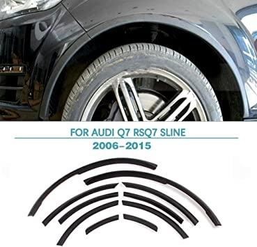 10PCS Fender Flares Wheel Arch Flare Covers Fit for Audi Q7 RSQ7 Sline 2006-2015