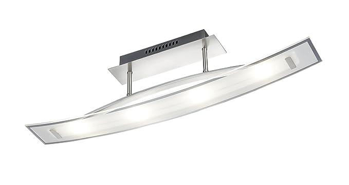 Lampade Led Da Soffitto : Trio leuchten lampada led da soffitto amazon illuminazione