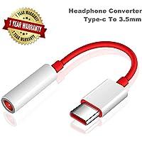 SpeedX Type C to 3.5 mm Jack Audio Connector, Noise Cancelling Headphones Jack Converter Audio Adapter (Pack of 1)