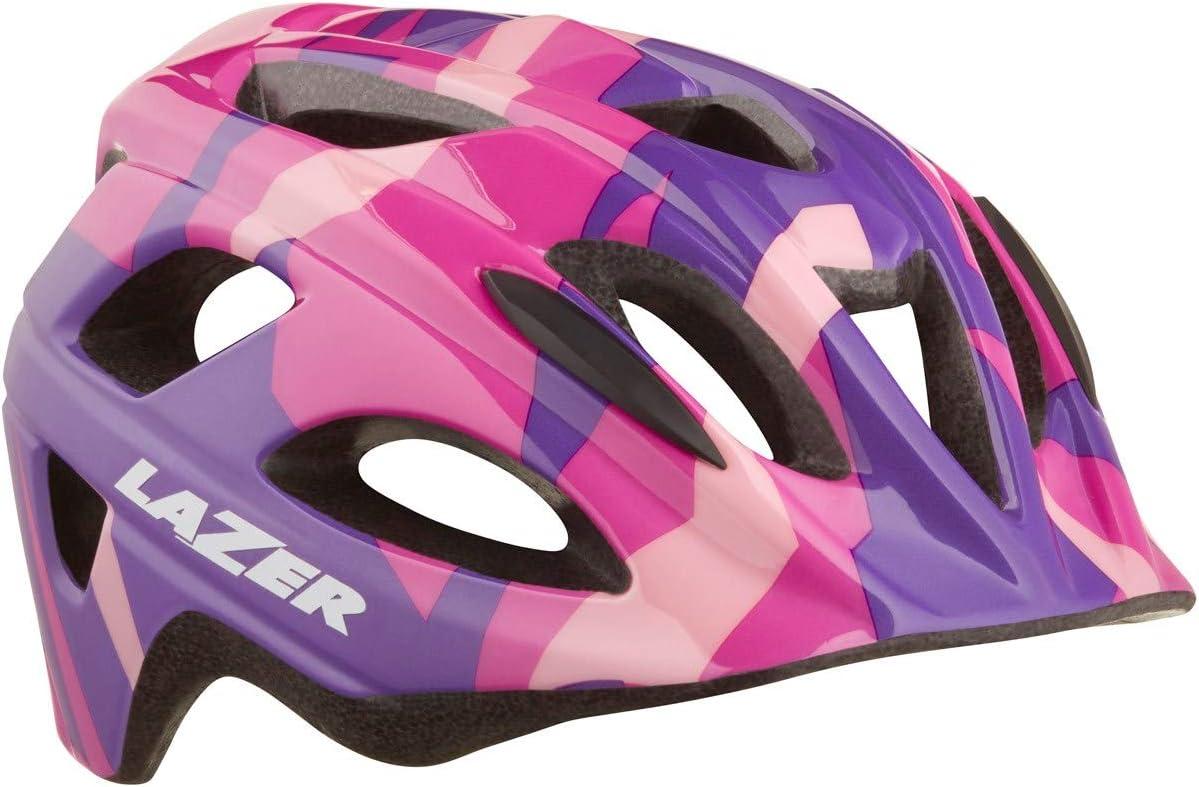 Uni-Kids Pink Dots Lazer Bob Helmet