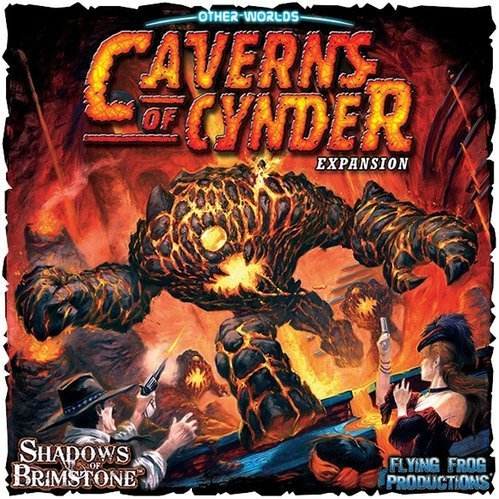 Shadows of Brimstone Caverns of Cynder Expansion by Flying Frog Productions