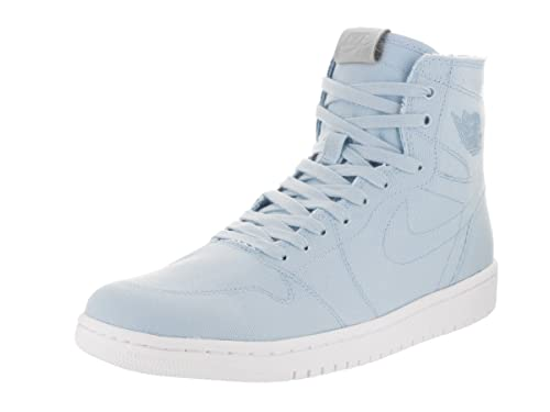 multiple colors outlet amazon Nike Men's Air Jordan 1 Retro High Decon, Ice Blue/Vachetta Tan/White, 10  D(M) US