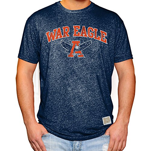Elite Fan Shop Auburn Tigers Retro Tshirt Navy - ()