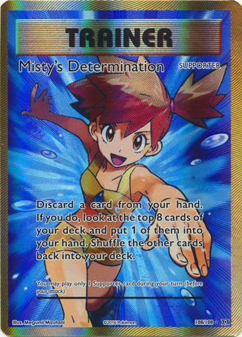 Pokemon - Misty39;s Determination (108/108) - XY Evolutions - Holo