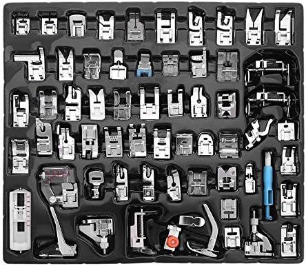 Agile-Shop-Juego de 62 prensatelas para máquina de coser doméstica ...
