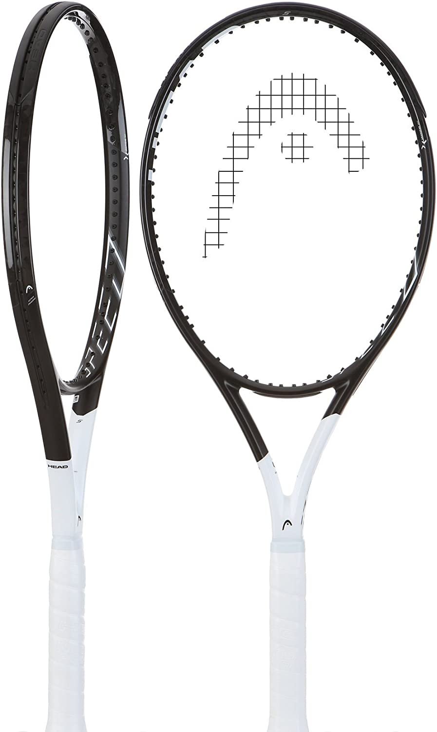 Best Lightweight Racket for Spin and Power HEAD Graphene 360 Speed S Midplus 16x19 Black//White Tennis Racquet Strung with Custom Complimentary String Colors