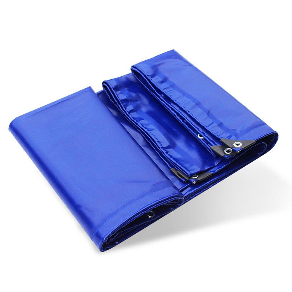 Verdicken Sie Regendichtes Tuch-wasserdichtes Tuch Drei Anti-Tuch Regen-Plane PVC-überzogenes Tuch-Auto-Plane-Blau