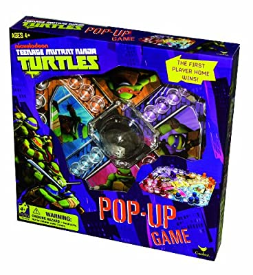 Teenage Mutant Ninja Turtles Pop Up Board Game