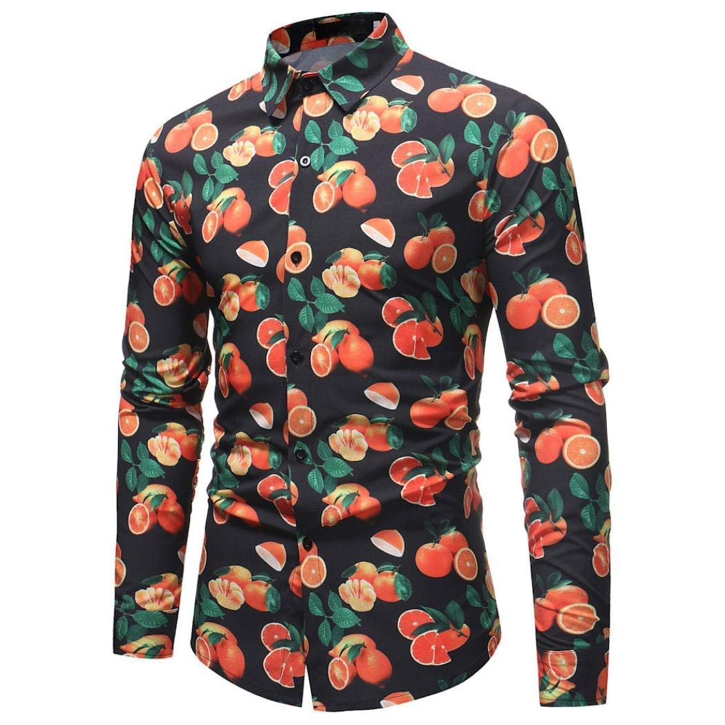 Top Black À Qiusa Shirt Longues Xxxl Slim Mens Manches Casual Fit kPXZiOu