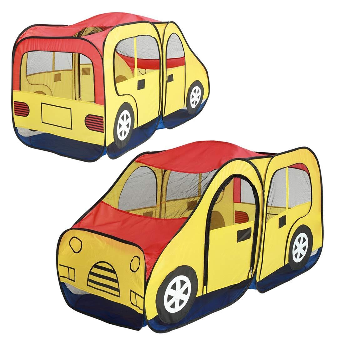 Nekovan (色 クリエイティブな車のデザインの子供たちのテントの子供のための折り畳み式屋内おもちゃの劇場再生 (色 : : イエロー) イエロー B07R9MKL2P B07R9MKL2P, 那須郡:7f127a8b --- number-directory.top