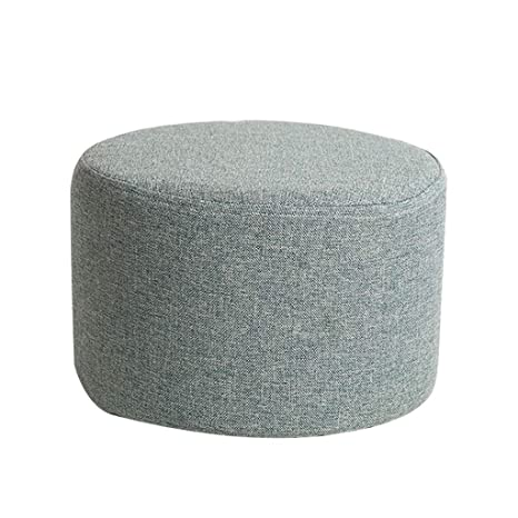 Pleasing Amazon Com Ylcj Modern Ottoman Upholstered Round Pouf Lamtechconsult Wood Chair Design Ideas Lamtechconsultcom
