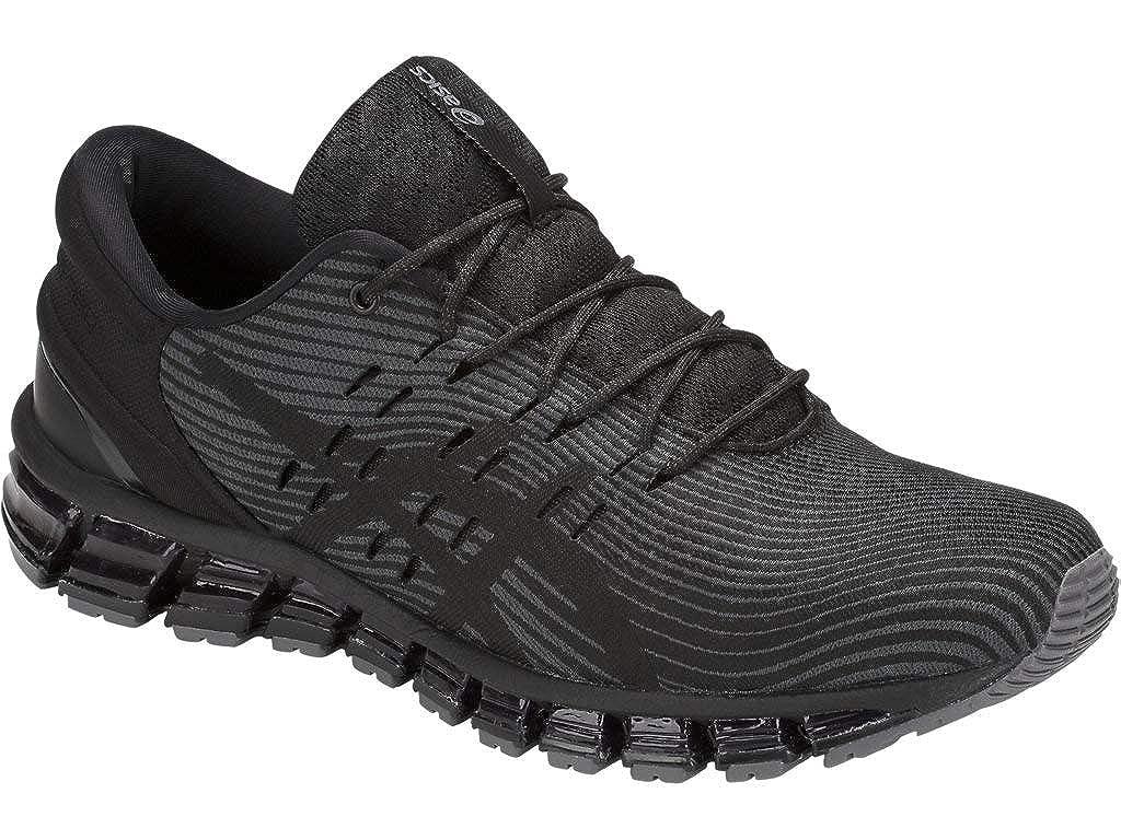 108428628b ASICS Men's Gel-Quantum 360 4 Running Shoes, 12.5M, Dark Grey/Black
