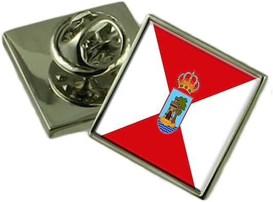 Select Gifts Vigo España Bandera Insignia de Solapa Cuadro Grabado: Amazon.es: Joyería