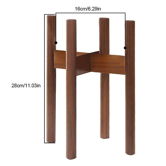 Amazon.com: Soporte de madera de haya, para ventana, balcón ...