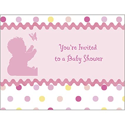 Amazon Com Tickled Pink Invitations Toys Games