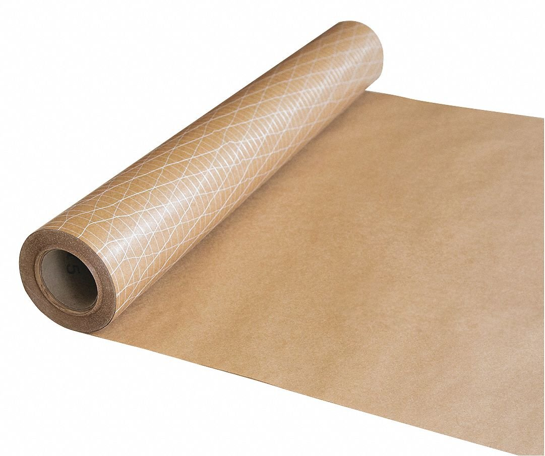 Kraft Paper, 200 ft. Length x 36''Width, Non-Adhesive Backing