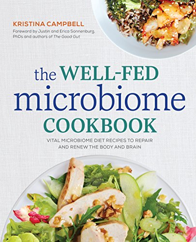 Book : The Well-fed Microbiome Cookbook: Vital Microbiome...