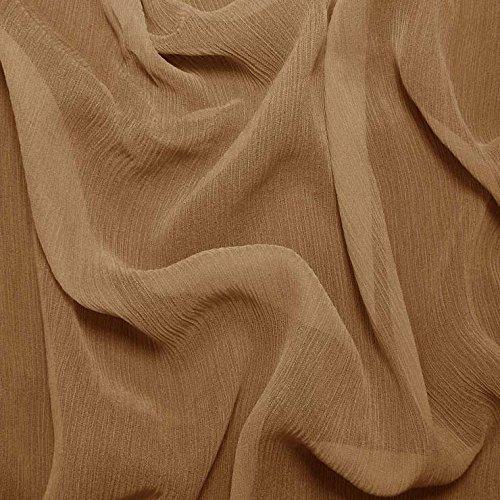Silk Crinkle Chiffon Fabric - 2
