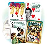 Best Playing Cards In The Worlds - Flickback 1950's Movie Trivia Playing Cards: 60th Birthday Review