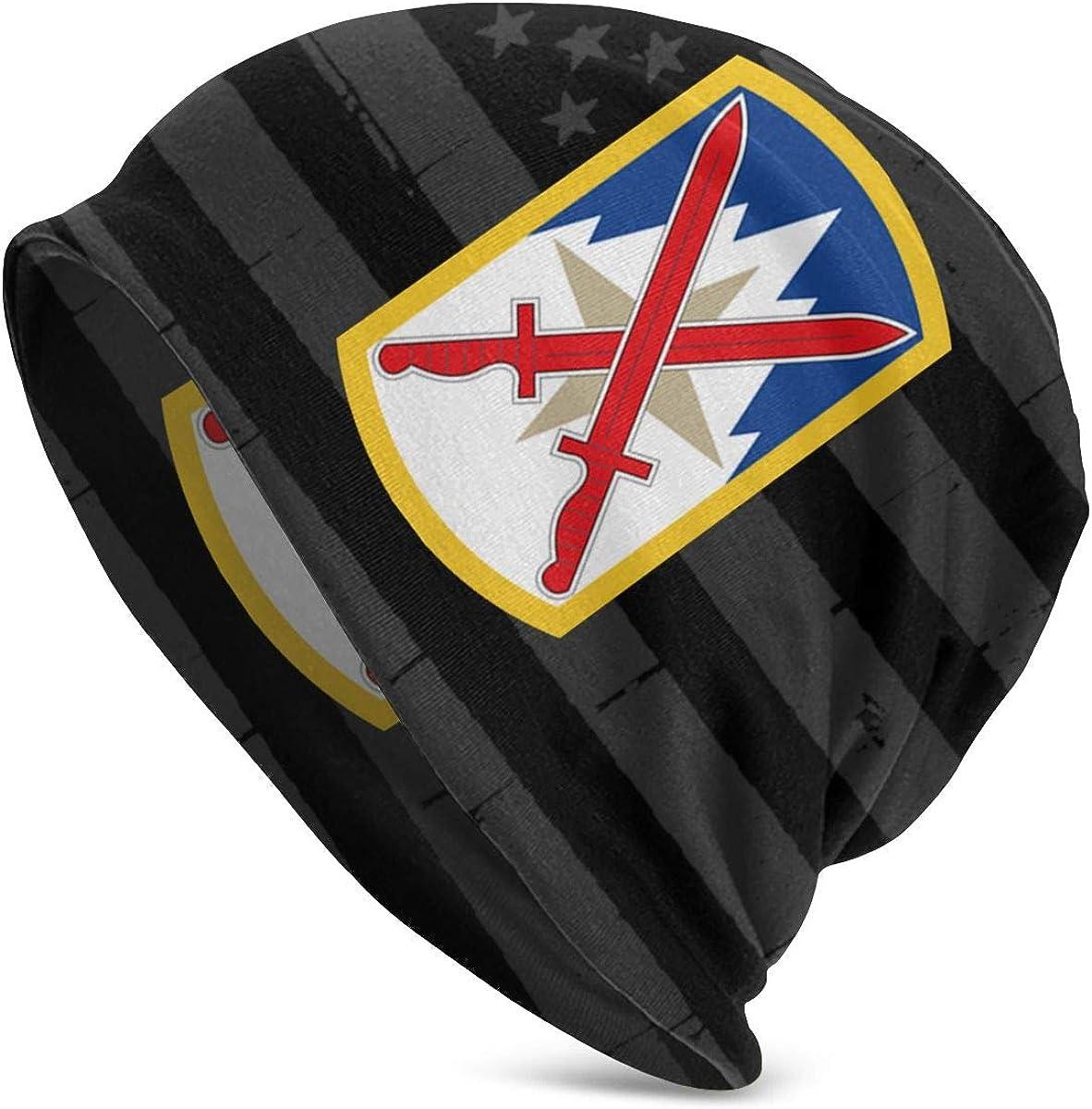JINGUImao US Army 10th Sustainment Brigade 10th Mountain Division Unisex Warm Hat Knit Hat Skull Cap Beanies Cap