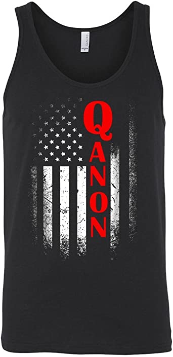 Military Exercise Tank Bodybuilding Vest Sleeveless T Shirt Men Tank Top QANON Where We Go One