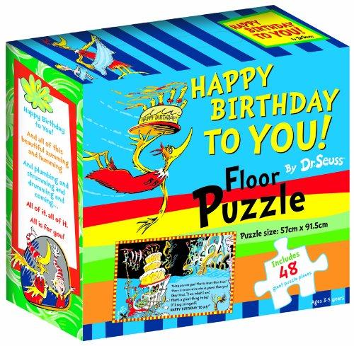 Happy Birthday to You! (Dr Seuss Floor Puzzles)