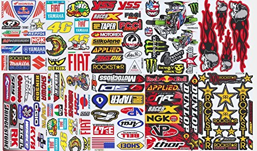 energy drink sticker sheets - 5