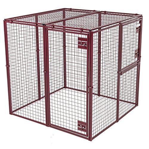 Animal House Heavy Duty Modular Pet Kennel (7.5′ Hx10'Lx5'W) 244.2 lbs