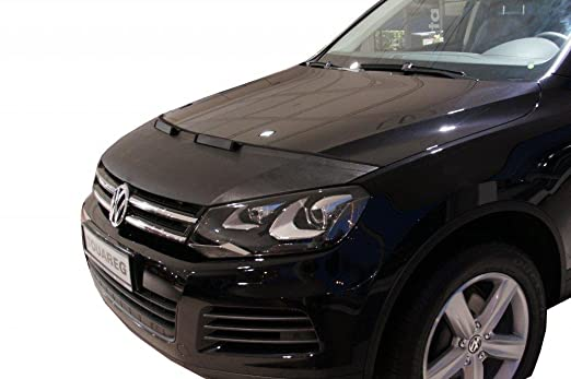 Amazon.com: HOOD BRA Front End Nose Mask for VW Volkswagen Touareg 2015- Bonnet Bra STONEGUARD PROTECTOR TUNING: Automotive