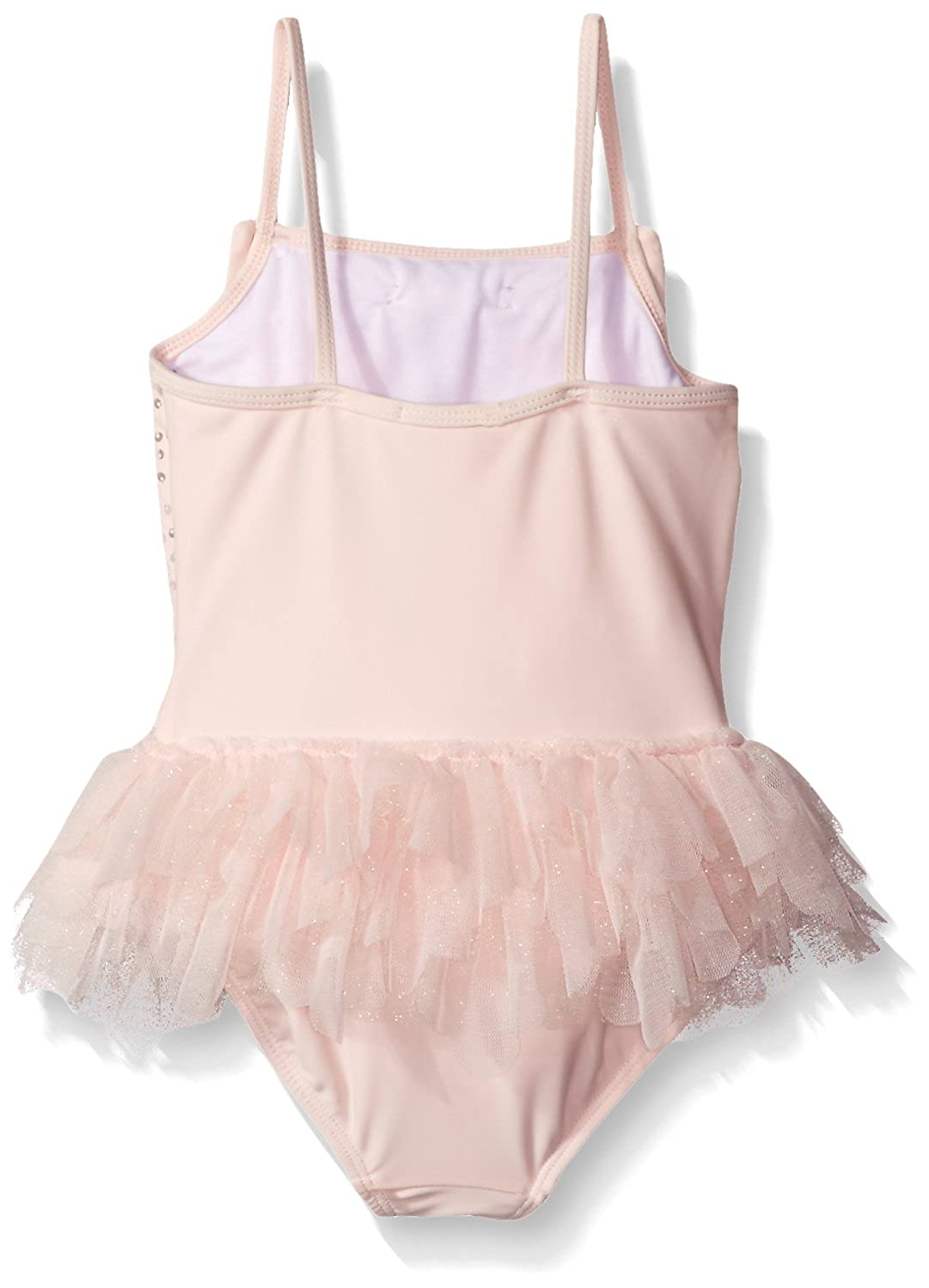 bef1f93d25dd8 Amazon.com  Kate Mack Little Girls  Toddler Twinkle Toes One Piece Swimsuit  with Skirt