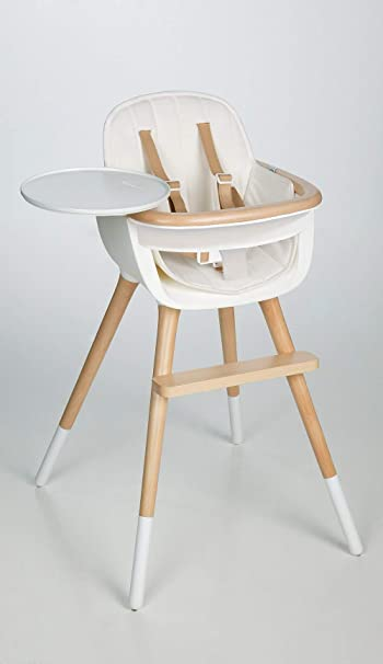 Amazoncom Ovo Max Luxe Convertible High Chair With Leather Strap