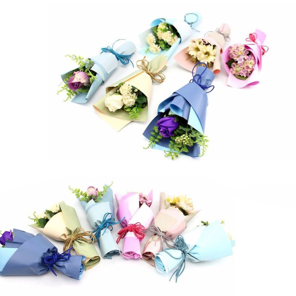 Floral Arranging Bulk Tissue Paper Flower Wrapping Background Florist Shop Bouquet Decoration Gift Favour Packaging Dustproof Pack Wedding DIY Wraps 60x60cm (23.6x23.6 inch) (180 Pieces, Color#1) by BAT Pack