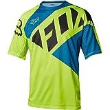 Fox Racing Demo Bike Short-Sleeve Jersey - Men's SECA Flo Yellow, XL
