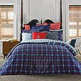 Tommy Hilfiger Boston Plaid Comforter Set, Full/Queen